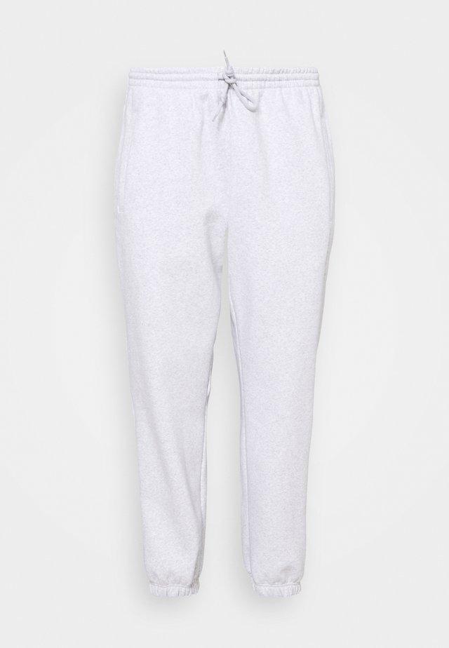 CUFFED PANT - Spodnie treningowe - light grey