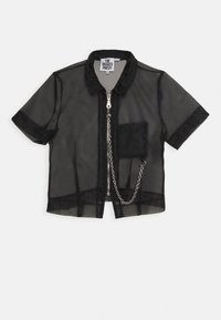 The Ragged Priest - CRYBABY SHIRT - Button-down blouse - black - 4