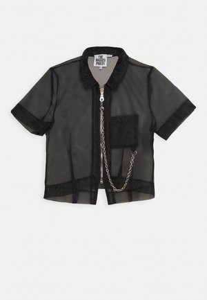 CRYBABY SHIRT - Button-down blouse - black