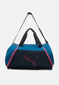BARREL BAG - Bolsa de deporte - digi blue/black/luminous pink