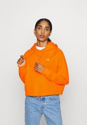 ELAXI CROPPED HOODY - Hoodie - orange popsicle