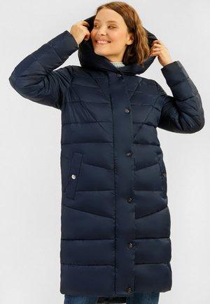 MIT KUSCHELIGER - Winter coat - cosmic blue