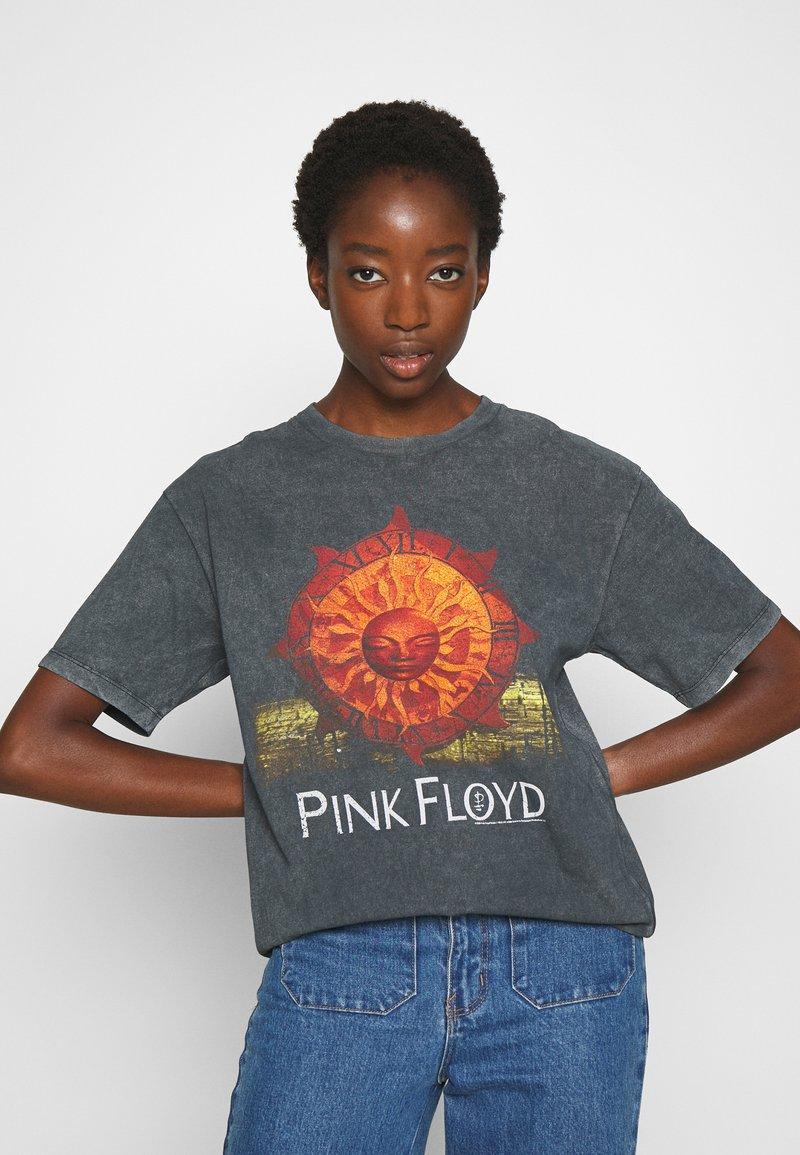 Topshop - PINK FLOYD TEE - T-Shirt print - black