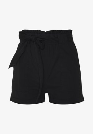 ONLSMILLA STRIPE BELT - Shorts - black