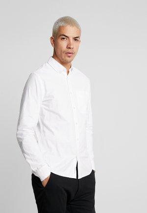 OXFORD SOLID SLIM NON STRETCH - Camicia - bright white