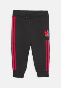 adidas Originals - TREFOILHOOD SET - Tracksuit - black - 2