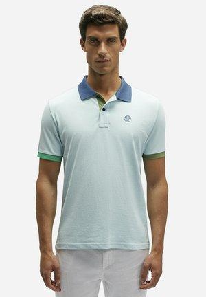 Polo shirt - blue 0762