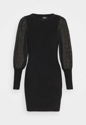 ONLEYLENE DRESS  - Strikket kjole - black
