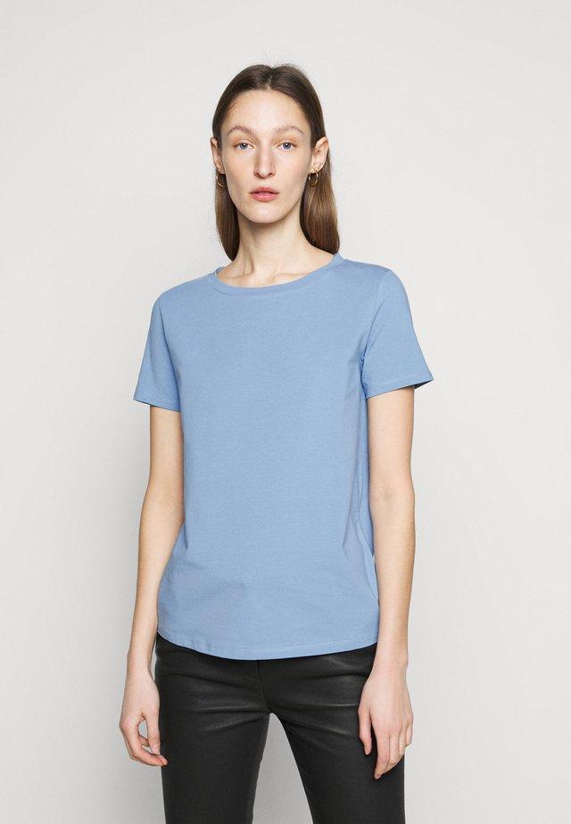 T-Shirt basic - himmelblau