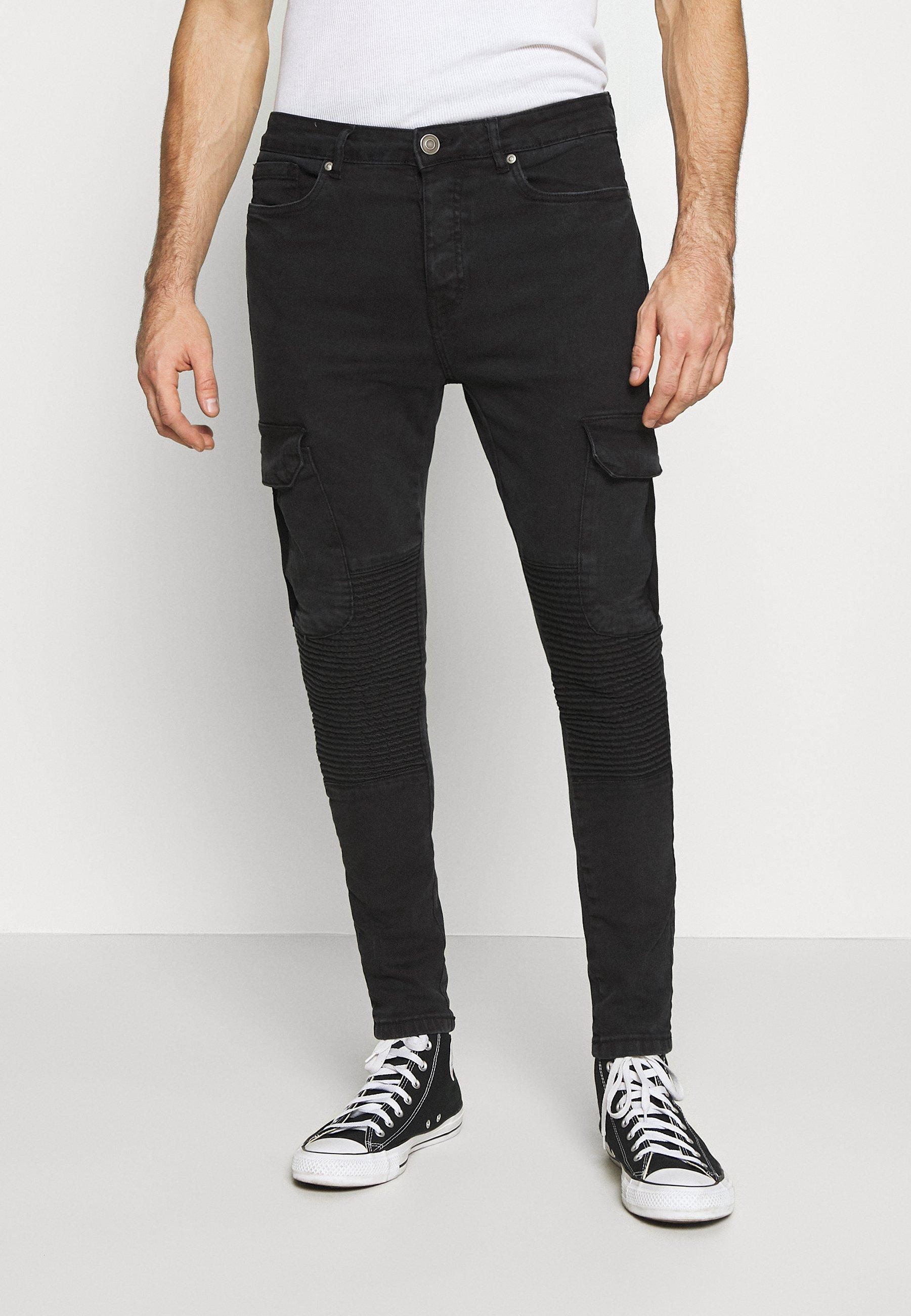 Men BIKERCARGO - Jeans Skinny Fit