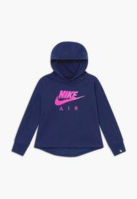 Nike Sportswear - AIR PULL OVER HOODIE - Hoodie - blue void - 0