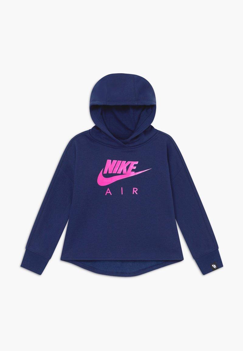 Nike Sportswear - AIR PULL OVER HOODIE - Hoodie - blue void