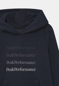 Peak Performance - GROUND HOOD UNISEX - Mikina s kapucí - blue shadow
