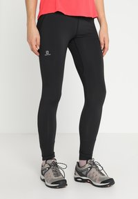 Salomon - AGILE LONG - Legging - black - 0