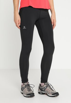 AGILE LONG - Leggings - black