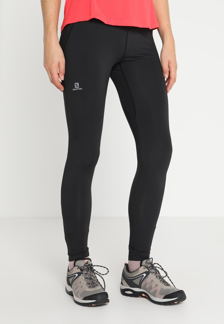 Salomon - AGILE LONG - Legging - black