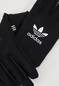 adidas Originals - TECHY GLOVES - Fingervantar - black/white - 3