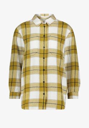 CASUAL MIT TASCHEN - Summer jacket - cream/yellow