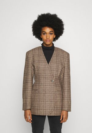 SHARP  - Short coat - brown