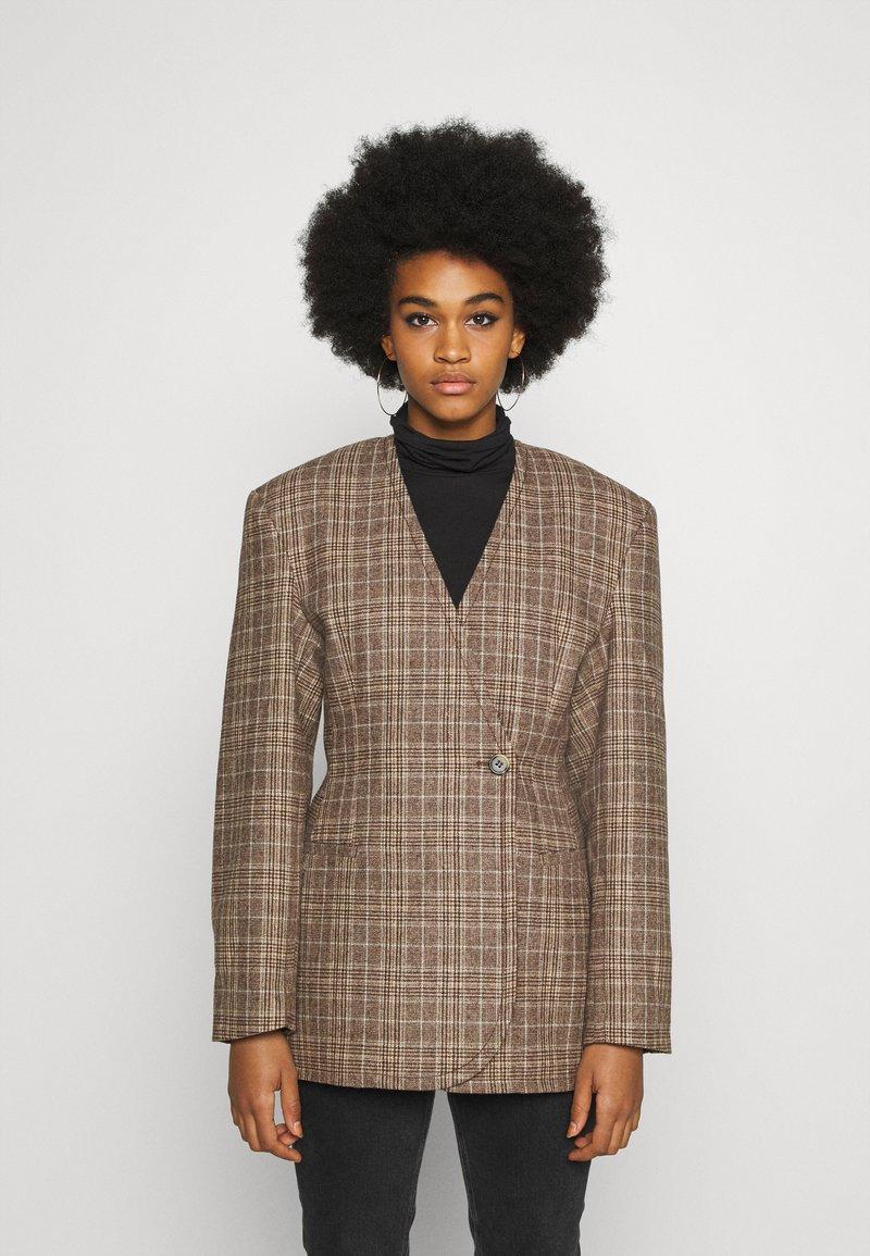Weekday - SHARP  - Short coat - brown