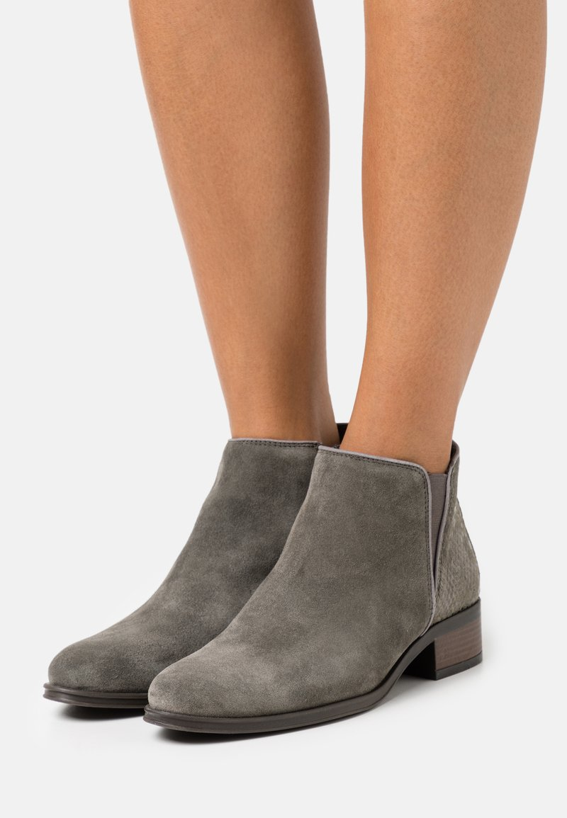 Anna Field - LEATHER - Ankle boots - green