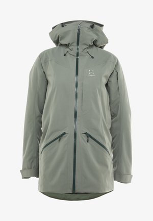 NIVA INSULATED PARKA - Winter coat - agave green