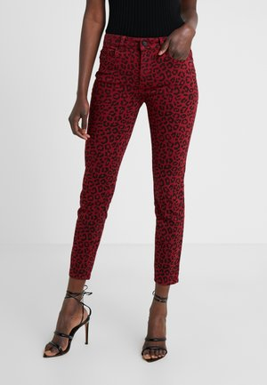 FLORENCE  LEOPARD - Jeans Skinny Fit - amsterdam