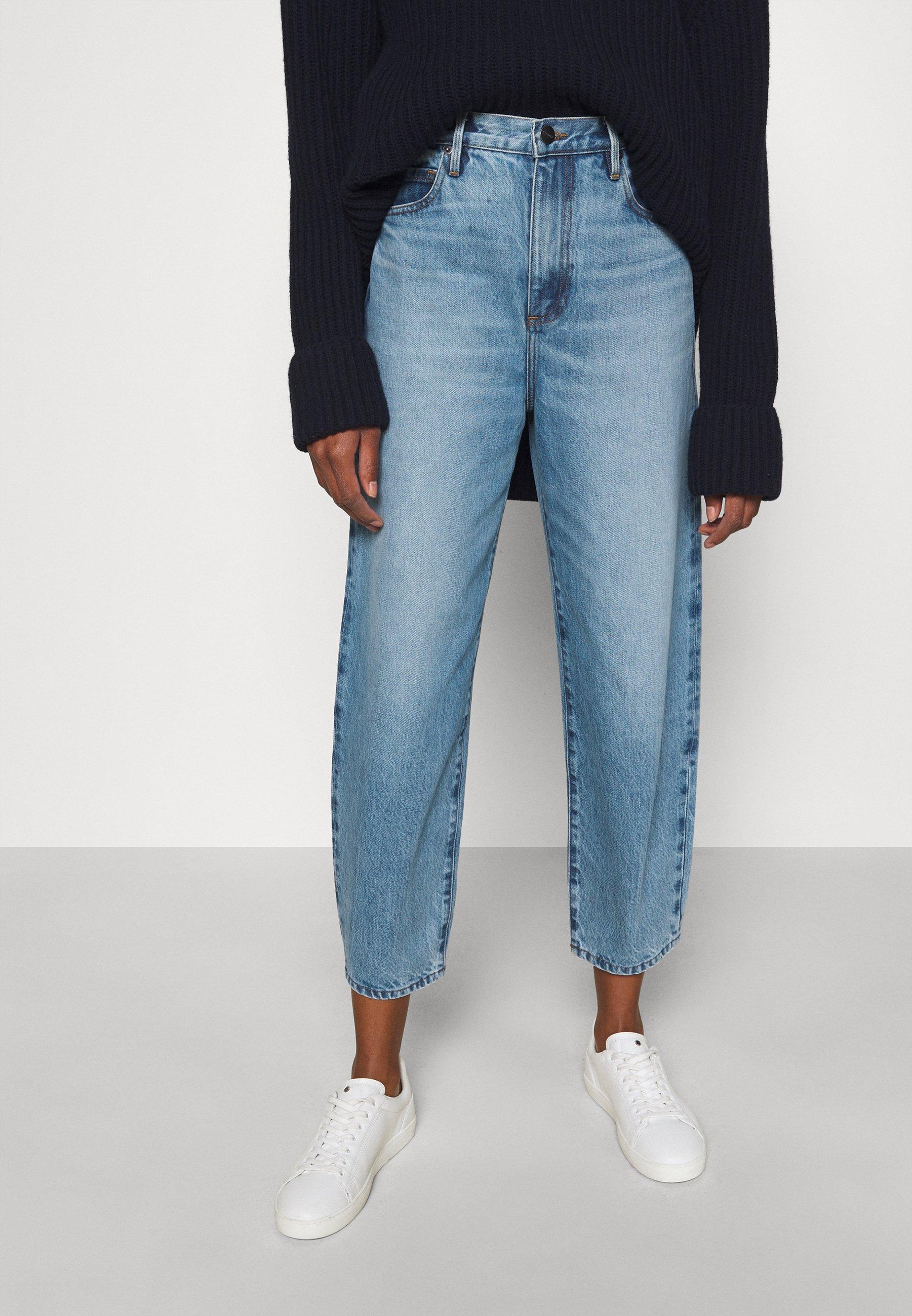 Women ULTRA HIGH RISE BARREL - Straight leg jeans