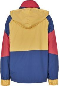Starter - MULTICOLORED LOGO - Kevyt takki - red/blue/yellow - 8
