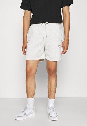 JJITOBIAS  UNISEX - Shorts - white melange