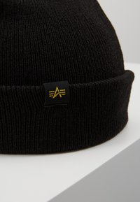 Alpha Industries - X-FIT BEANIE UNISEX - Mössa - black - 3