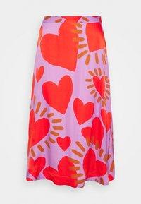WILD HEARTS MIDI SKIRT - A-line skirt - multi