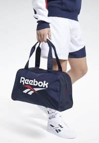 Reebok Classic - CLASSICS FOUNDATION DUFFLE BAG - Sports bag - blue - 0