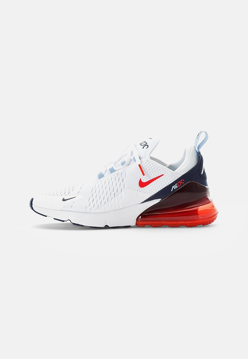 Nike Sportswear - AIR MAX - Sneakers - white/chile red-midnight navy-psychic blue-challenge red-mtlc silver