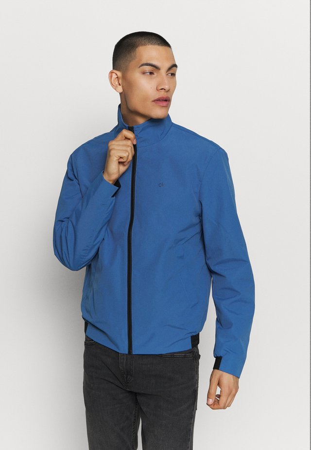 CASUAL BLOUSON JACKET - Summer jacket - blue