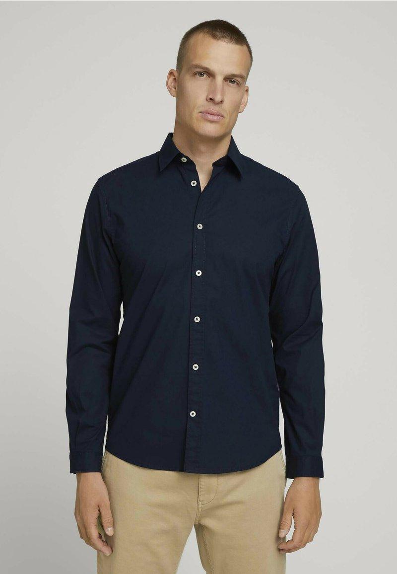 TOM TAILOR - Formal shirt - sky captain blue