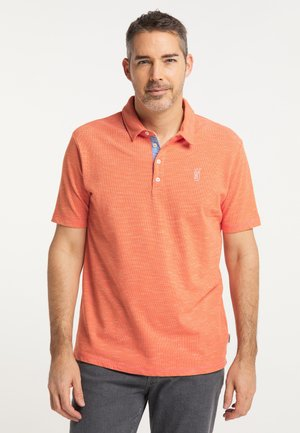 Polo shirt - orangerust