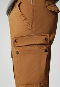 Napapijri - MOTO - Cargo trousers - chipmunk beige - 6