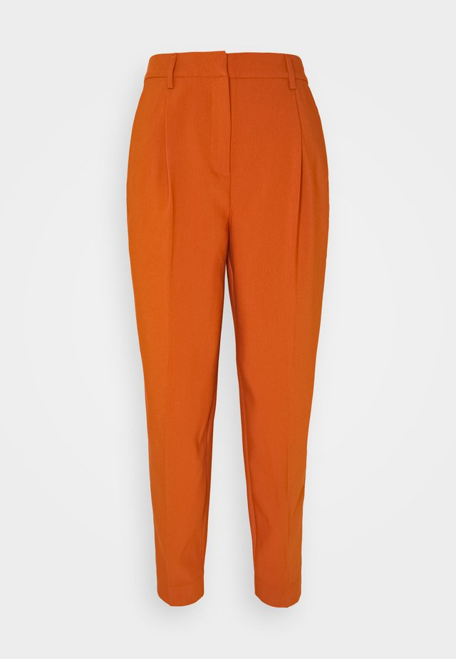 CINDY DAGNY PANT - Trousers - deep amber