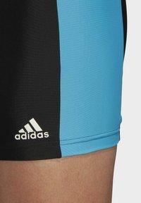 adidas Performance - FITNESS THREE-SECOND SWIM BRIEFS - Swimming trunks - black - 7