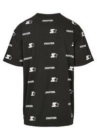 Starter - T-shirt imprimé - black - 6
