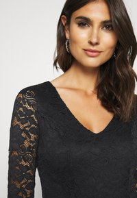 Anna Field - OCCASION - LONG SLEEVES LACE TOP JUMPSUIT - Combinaison - black - 5