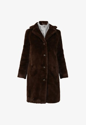 CYBER - Winter coat - dark brown