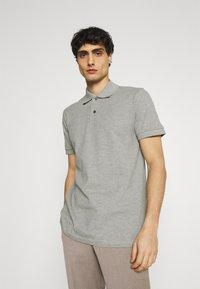 Selected Homme - NEO - Polo shirt - medium grey melange - 0