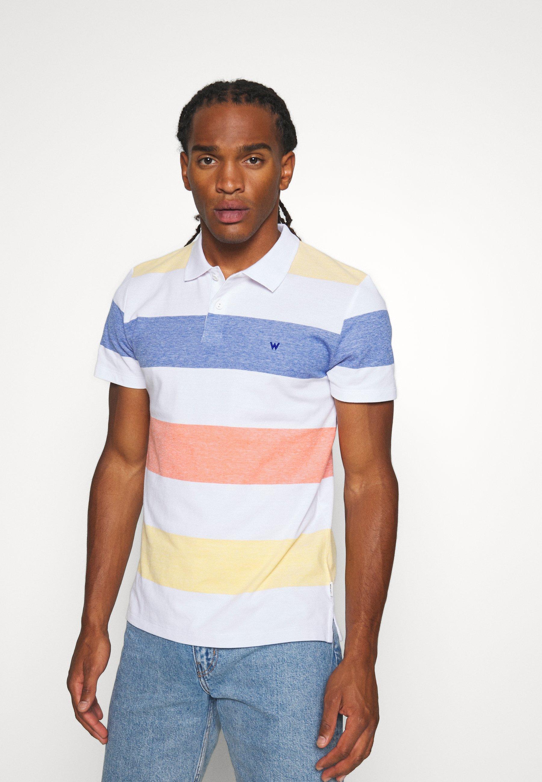 Men SS STRIPE POLO - Polo shirt