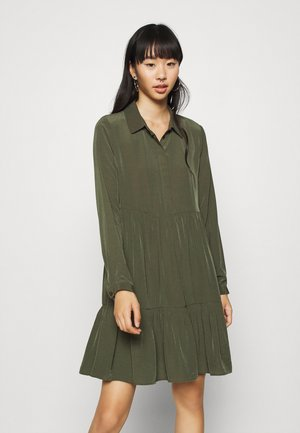 VIMORAS DRESS - Shirt dress - forest night