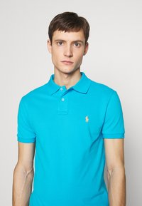 Polo Ralph Lauren - SLIM FIT MESH POLO SHIRT - Polo shirt - cove blue - 4