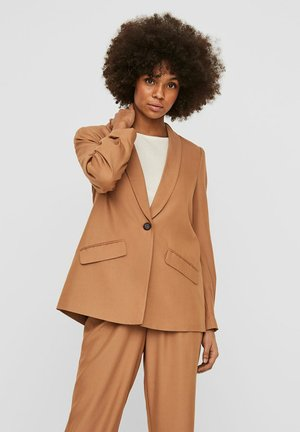BLAZER LOOSE FIT - Blazer - tobacco brown