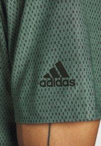 adidas Golf - ULTIMATE 365 SHORT SLEEVE  - Polotričko - tech emerald/legend earth - 5