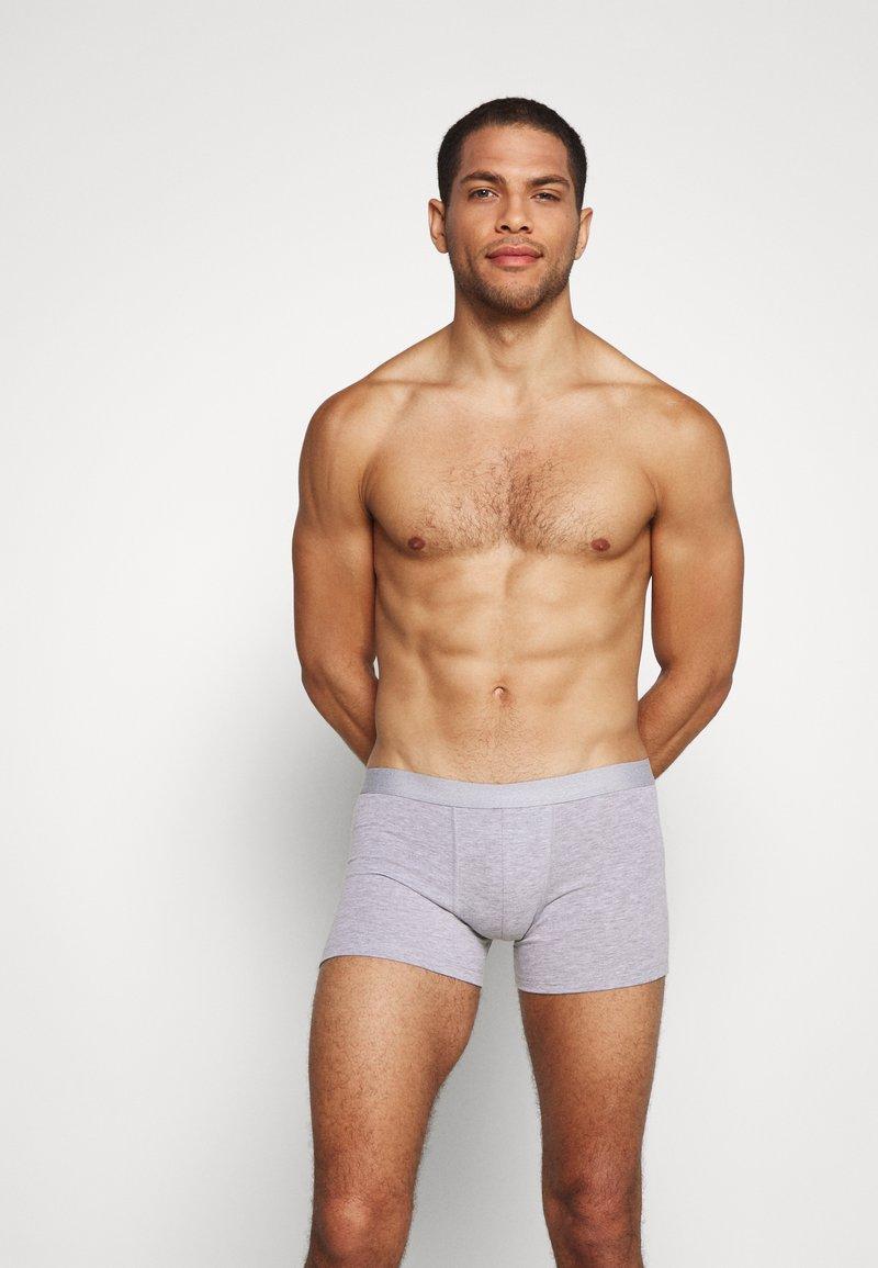 Pier One - 3 PACK - Pants - mottled grey